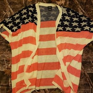 Flag Cardigan